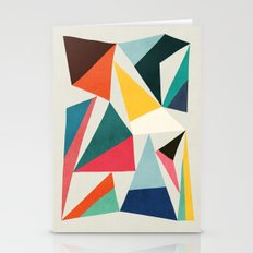 Collection Of Pointy Sum… Stationery Cards