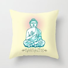 Buddha Namaste Throw Pillow