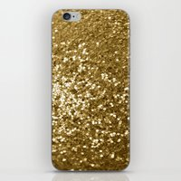 Purpurina iPhone & iPod Skin