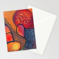 Dance in Orange Stationery Cards
