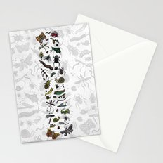 letter I - insects Stationery Cards