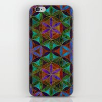 The Flower Of Life (Sacr… iPhone & iPod Skin