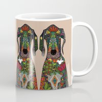 Great Dane Love Beige Mug