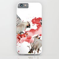 iPhone & iPod Case featuring Feeding time by Libby Watkins Illustration