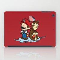 Mario and Kong iPad Case