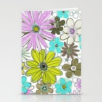 Stationery Card featuring Spring Garden by Pink Pagoda Studio / Barbara Perrine Chu