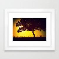 Exit 22 Framed Art Print