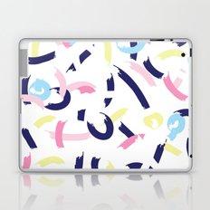 Pastel smudges Laptop & iPad Skin
