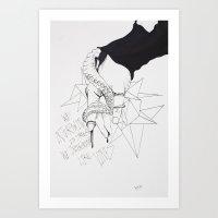 Lovely Vines Art Print