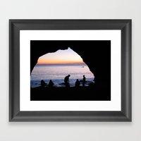 Light At The End Framed Art Print