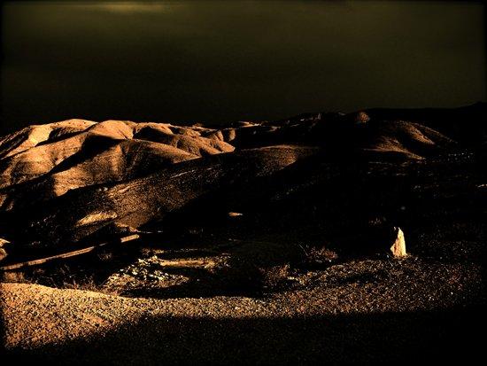 Dark Desert Canvas Print
