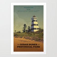 Cedar Dunes Provincial Park Art Print