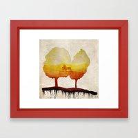Trees Of Life Framed Art Print