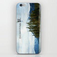 Be iPhone & iPod Skin