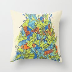 Music--Something For Everyone Throw Pillow