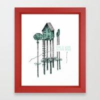Home - ANALOG zine Framed Art Print