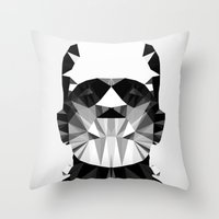 Polygon Heroes - The Hor… Throw Pillow