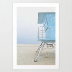 mood - minimalist Art Print