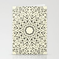 Mandala 6 Stationery Cards