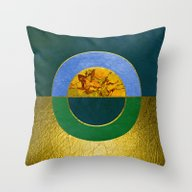 Abstract #122 Throw Pillow