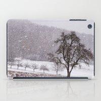 Old Pear Tree On A Winte… iPad Case