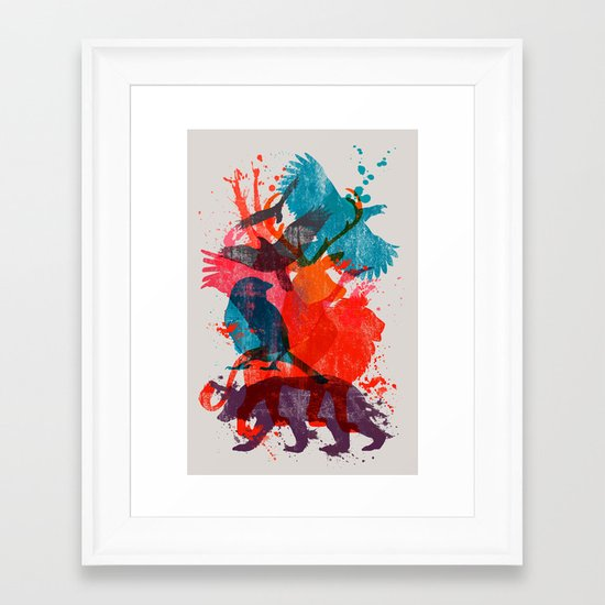 It's A Wild Thing Framed Art Print