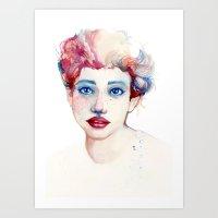 Multicolor Art Print