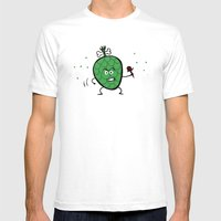 Cherimoya Mens Fitted Tee White SMALL