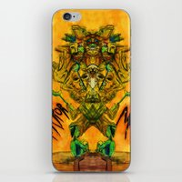 Mirror Mask iPhone & iPod Skin