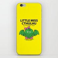 Little Miss Cthulhu iPhone & iPod Skin