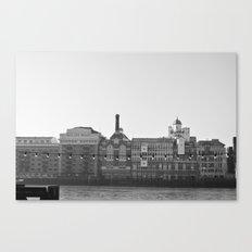 Butler´s Wharf - London Canvas Print