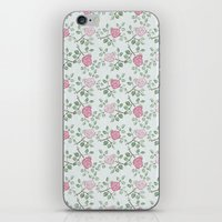 Rose Print iPhone & iPod Skin