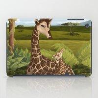 Giraffes, A Mother's Lov… iPad Case