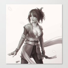 Sheena - Tales of Symphonia Canvas Print