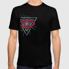Illuminati (alt color) SMALL Mens Fitted Tee Black