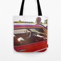 Country Mustang Tote Bag