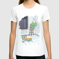 Shallow Ones 2 Womens Fitted Tee White SMALL