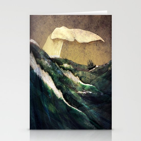 Moby Dick Stationery Card
