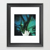 Mano Invisible... Framed Art Print