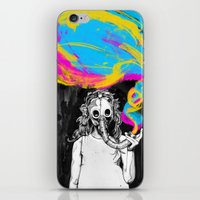 DeathBreath iPhone & iPod Skin