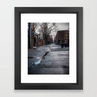 Float on Through Framed Art Print