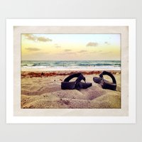 End of Summer Nostalgia Art Print