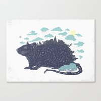 City Rat Canvas Print