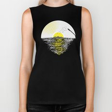 Morning Sounds Biker Tank