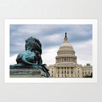 Guarding Freedom Art Print