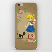 Retro Sailor Moon iPhone & iPod Skin
