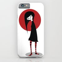 Mia On White iPhone 6 Slim Case