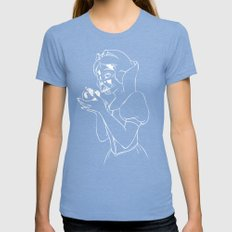 Snow Vader Womens Fitted Tee Tri-Blue SMALL