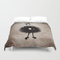 Evil Bug Wondering Duvet Cover