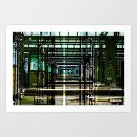 Mainstation Art Print